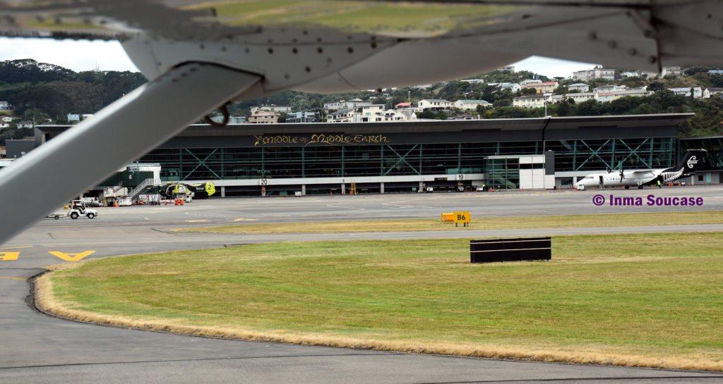 aeropuerto Wellington Nueva Zelanda