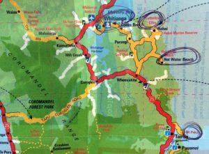 mapa-Whitianga