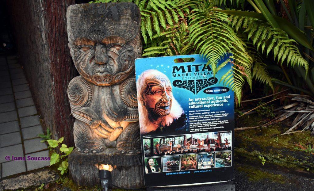 poblado maori Mitai rotorua