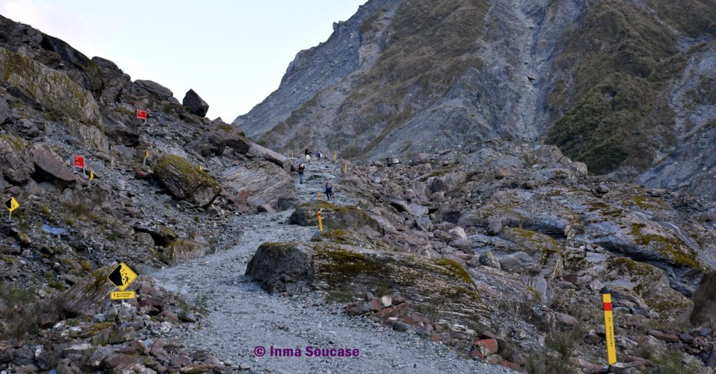 ruta glaciar fox senda